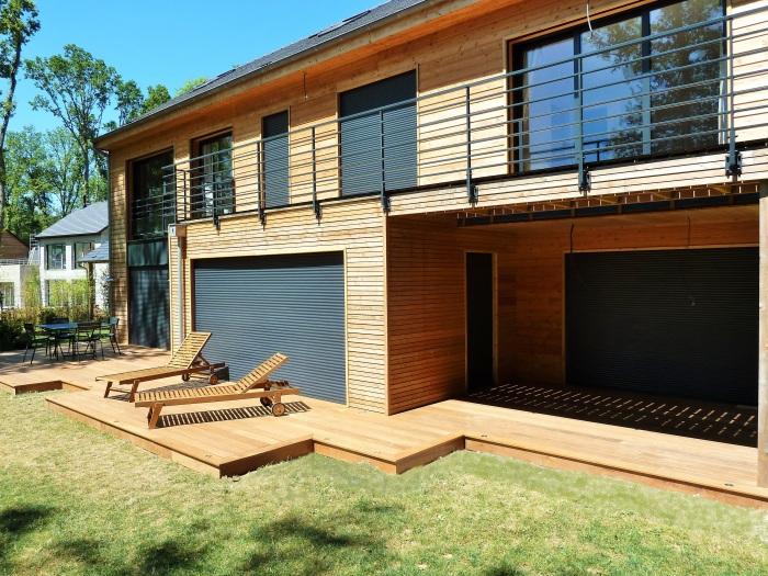 terrasse bois en Ipe  Menuiserie Paysagère