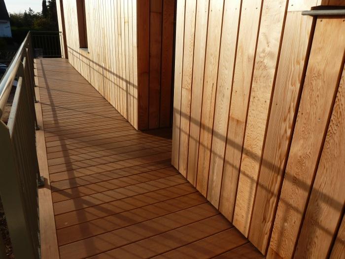 Terrasse bois et bardage la baule 44